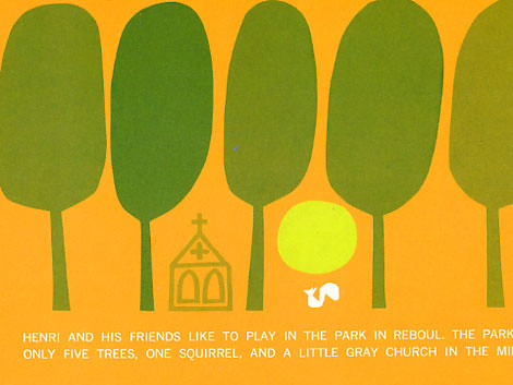 Saul Bass - Henri's walk to paris c1962 | by Grain Edit.com