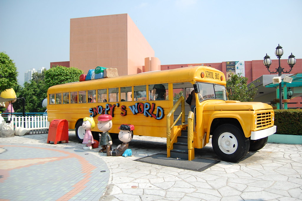 Snoopy's World in New Town Plaza, Sha Tin, best for kids in Hong Kong