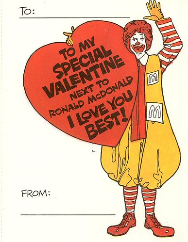Ronald McDonald Valentine | by Waffle Whiffer