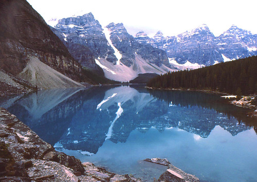 Valley of the Ten Peaks at Moraine Lake.  Alberta Canada | by Lifeinthenorthwoods.com