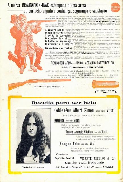 Ilustração Portugueza, No. 466, January 25 1915 - back cover