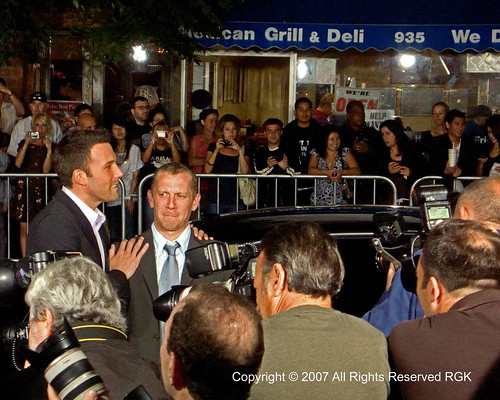 Director Ben Affleck & writer Aaron Stockard - Gone Baby Gone 05 | by Candid Photos