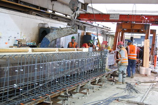 Placing the Steel Framing | by WSDOT