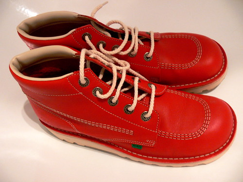 Red Kickers Shoes