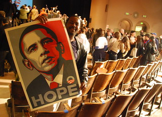 Hope - Obama (Shepard Fairey poster) | by Steve Rhodes