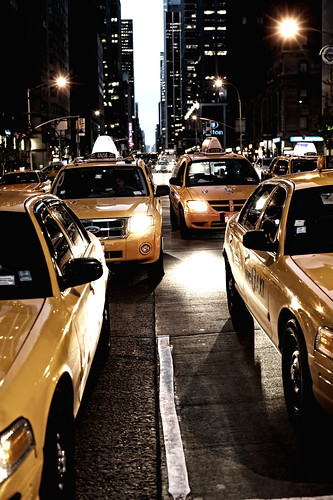 Yellow Cab | by Arpad Anderegg