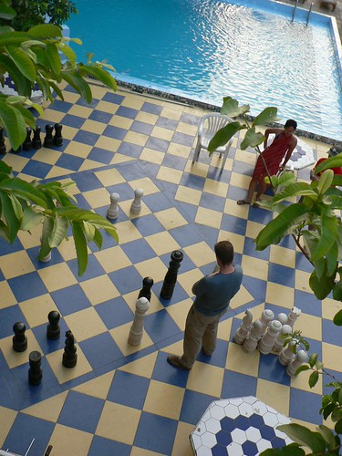 Losing at Chess in Luxor, Egypt | by eviljohnius