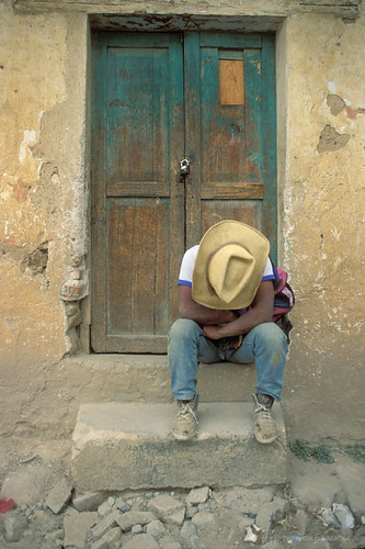 Working resting in doorway. Guatemala | by World Bank Photo Collection