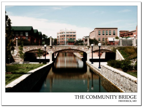 Community bridge in frederick md flickr photo sharing for Bridge mural frederick md