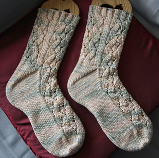 Serpentine Socks 110707 | by wendy1257