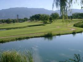 Dam Nine Overlooking Sandias - Arroyo del Oso Golf Course | by CABQ Parks and Recreation
