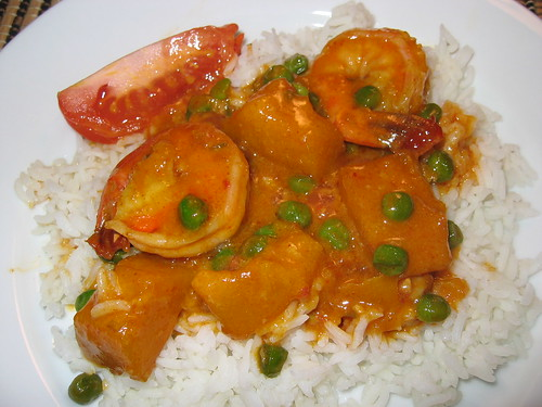 Red Curry with Kabocha and Shrimp | by Kevin - Closet Cooking