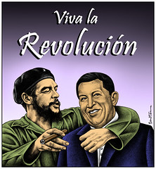 From Guevara to Chavez | by Ben Heine