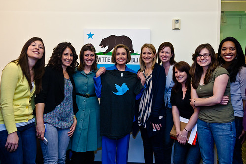 Visitor: Nancy Pelosi (Archive) | by @Twitter
