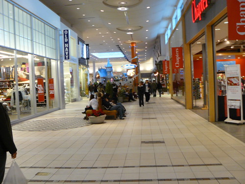 Boxing Day set a record for Calgary's Chinook Centre mall, marketing director Peggy Lim says. Approximately , shoppers hit the mall Sunday, beating the previous record of .