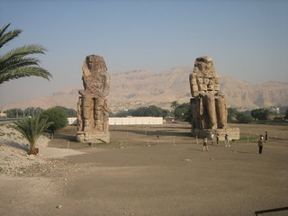 The Colossi of Memnon | by girolame