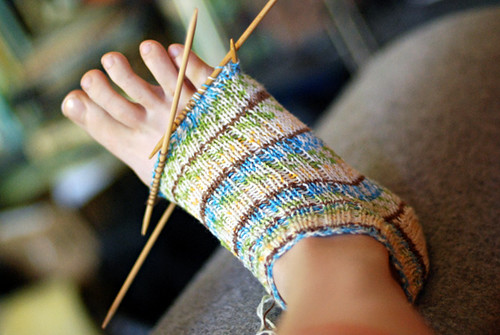 my first sock | by -leethal-
