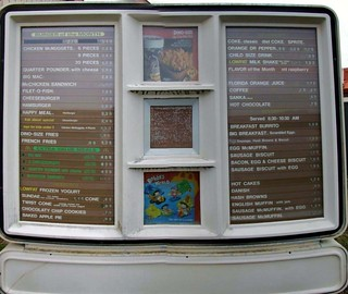 1993 Drive-Thru Menu | by Travis S.