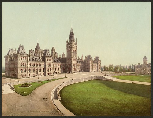 Parliament buildings, Ottawa (LOC) | by The Library of Congress
