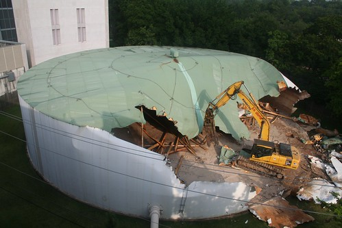 Water Tank Demolition : Water tank demolition flickr photo sharing