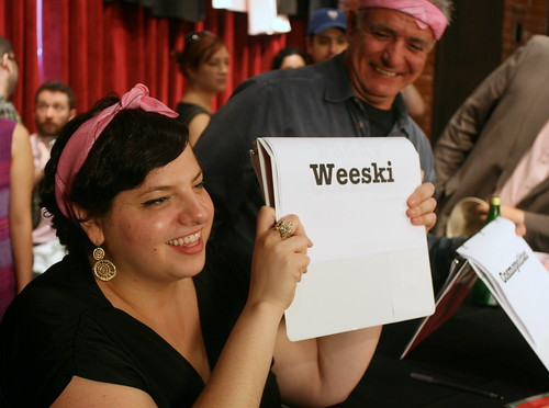 Jordana picks a Weeski | by Vidiot
