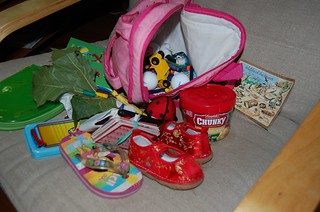 Contents of a Toddler's Backpack | by cathyse97