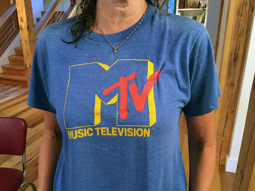 The second MTV t-shirt | by Fred Seibert