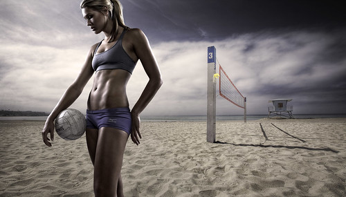 Morgan - Beach Volleyball | by Joel Grimes Photography