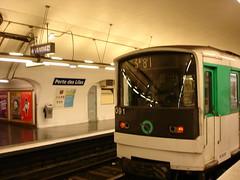 Porte des Lilas métro
