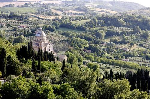 Paysage de Toscane (2)