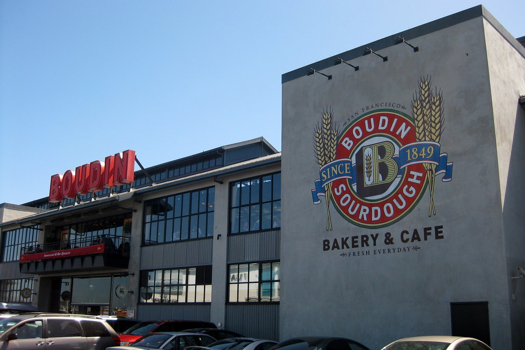 San Francisco - Fisherman's Wharf: Boudin Bakery & Café