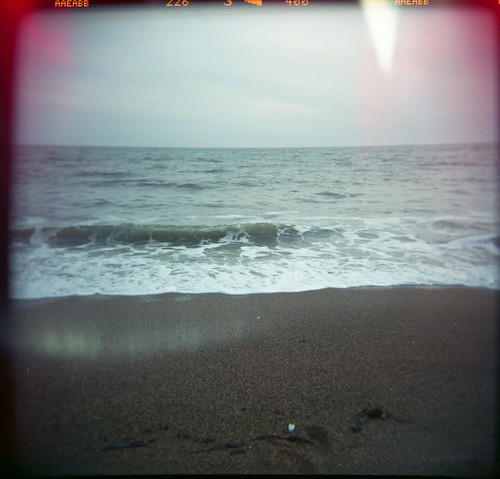 Film Holga beach dorset | by sam witney