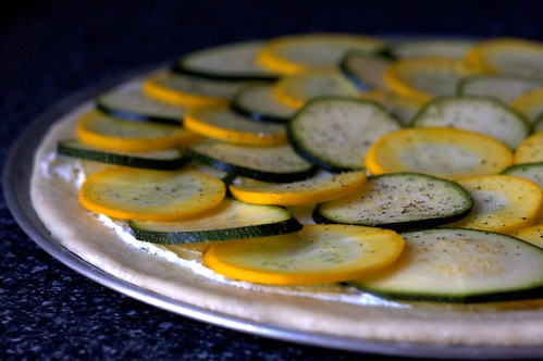 lemony zucchini pizza | by smitten kitchen
