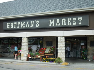 Exterior of Huffman's Market | by swampkitty