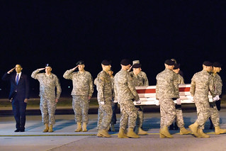 Rendering honors at Dover AFB | by The U.S. Army