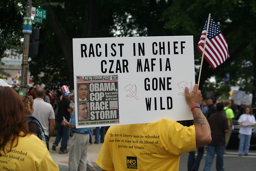 Teabaggers descend on Washington | by mar is sea Y