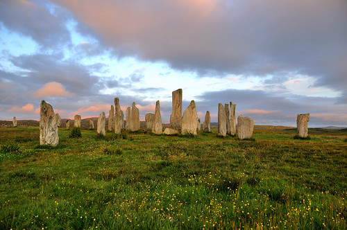 The standing stones at Callanish at dawn, Isle of Lewis, Scotland | by iancowe