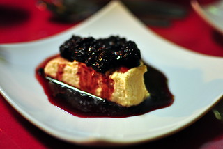 COCONUT CREAM WITH BERRIES | by Cathy Chaplin | GastronomyBlog.com