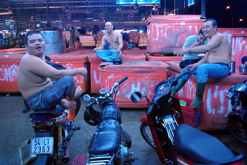 Taking A Break - Chanh Hung Night Fish Market. Ho Chi Min City/Saigon | by The Hungry Cyclist