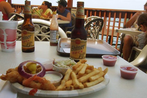 Shiner Bock at Snoopy's Pier | by glennaa