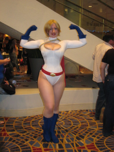Power Girl | by Once Upon a Geek