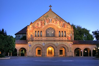 Twilight Glow at Stanford - Site of Steve Jobs' Memorial Service | by Jill Clardy