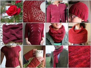 Project Spectrum - RED | by tentenknits
