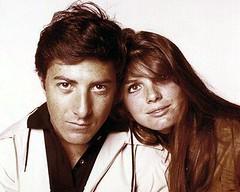 Dustin Hoffman & Katharine Ross in The Graduate | Flickr ...