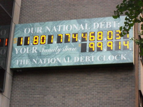 US national debt clock | by Rafiq Phillips