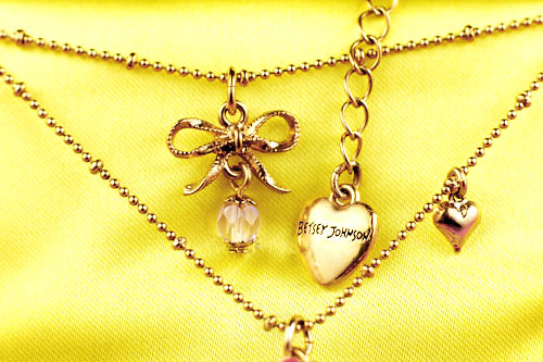 Betsey Johnson Necklace | by Bakerella