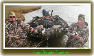 MISSISSIPPI WATERFOWL HUNTING - Eddie Jones & Rob Langlinais - Phot to by Capt. Robert L. Brodie | by teambrodiecharters