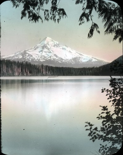 Mount Hood from Lost Lake | by OSU Special Collections & Archives : Commons