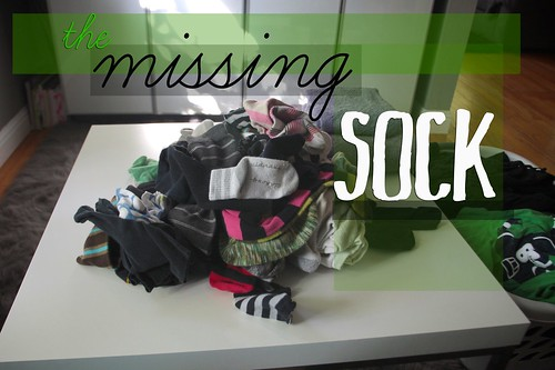 the missing sock | by shutterbean