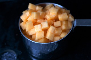 cantaloupe cubes | by smitten kitchen
